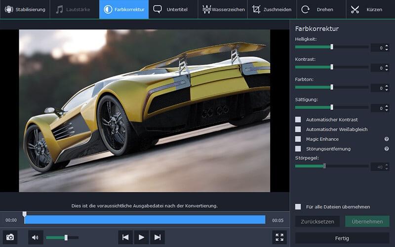 Abbildung 1: Movavi Video Converter (Quelle: movavi.de)
