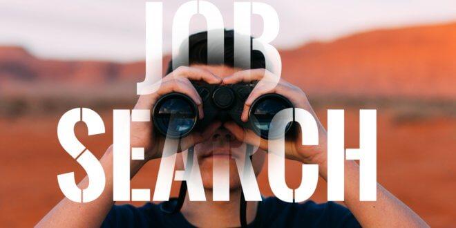 Auf der Suche nach einem Job